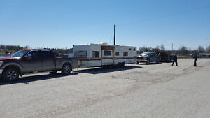 Old and Unwanted campers Removal and Camper Towing Service