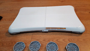 Wii balance board with cover