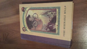 Selling Lemony Snicket - A Series of Unfortunate Events.