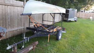 Canoe and Trailer with Racks Stratford Kitchener Area image 2