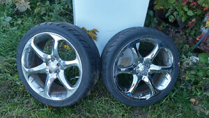 18 inch Boss rims and tires