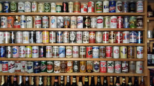 Beer Can, Bottle and Tap Collection