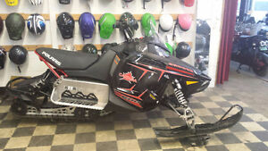 2012 600cc Polaris Rush Snowmobile