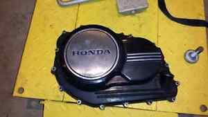Clutch side engine case V65 magna