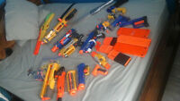 6 nerf   guns   and more