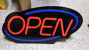 NEW   -   LED Open Sign