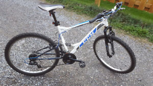 "CCM Static 26"" Full Suspension Mountain Bike (bought in august)"