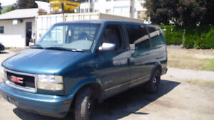 1996 GMC Safari Minivan, Van