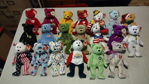 Assortment of beanie babies $3 each OBO