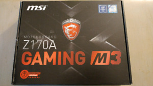 SELLING MSI Z170A GAMING M3 MOTHERBOARD