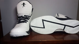 Clean brand new ball shoes size 13. Negotiable.