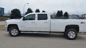 2007 Chevrolet Silverado LTZ 3500HD 4x4 Long Box