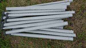 steel pool legs for 42, 48 and 52 inch pool. good shape 16 avail
