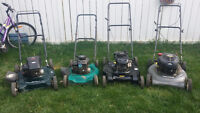 refurbished lawn mowers INVENTORY REDUCTION SALE NOW ON!!
