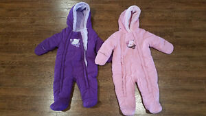 Snowsuit | Bundle Sacks - Pink & Purple