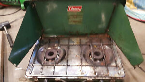 3 Portable Campstoves (one naphtha fuel, two propane) Edmonton Edmonton Area image 3