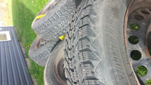 195/65/15 studded tires on rims