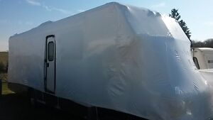 Shrinking Wrapping In/Outdoor Vehicle Stg, Trailers Boats Rvs Kitchener / Waterloo Kitchener Area image 2