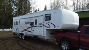 2006 KZ Sportman fifth wheel toy hauler