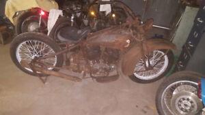1931  HARLEY 1200cc  VL