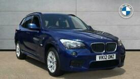 image for 2012 BMW X1 SERIES X1 sDrive18d M Sport SUV Diesel Manual