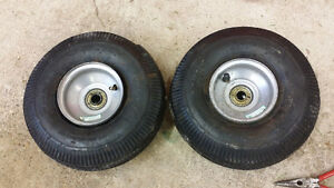4.10 3.50 x 4 dolly wheels tires hand truck cart