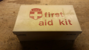 Vintage First Aid Kit - Shield