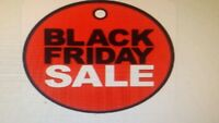 HURRY IN BLACK FRIDAY SALES FRIDAY AND SATURDAY