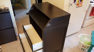 Well constructed baby change table with drawers