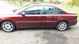 2001 Volvo S80 T6 Sedan Comes with Parts Car 2 FOR 1