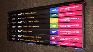 2015 MCAT review - All 7 subjects (Kaplan)