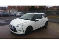 2011 60 CITROEN DS3 1.6 HDi 90 BLACK&WHITE MODEL,FINANCE AVAILABLE.£20 ROAD TAX.