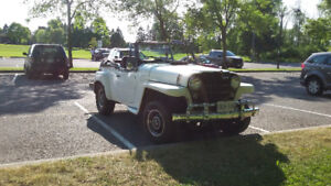 Summer fun! 1950 Willys Jeepster