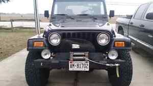 Trade jeep for???