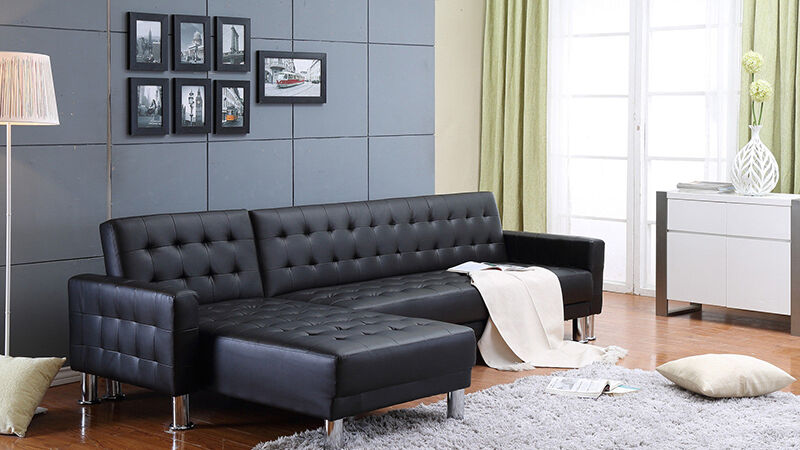 marsden leather sectional