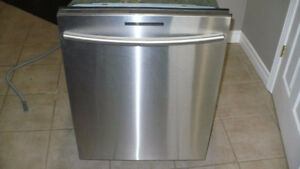 samsung stainless steel dishwasher for repair or parts