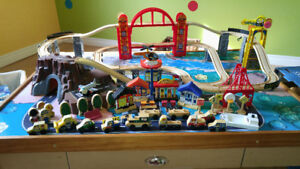 Toy Train Tabletop Set