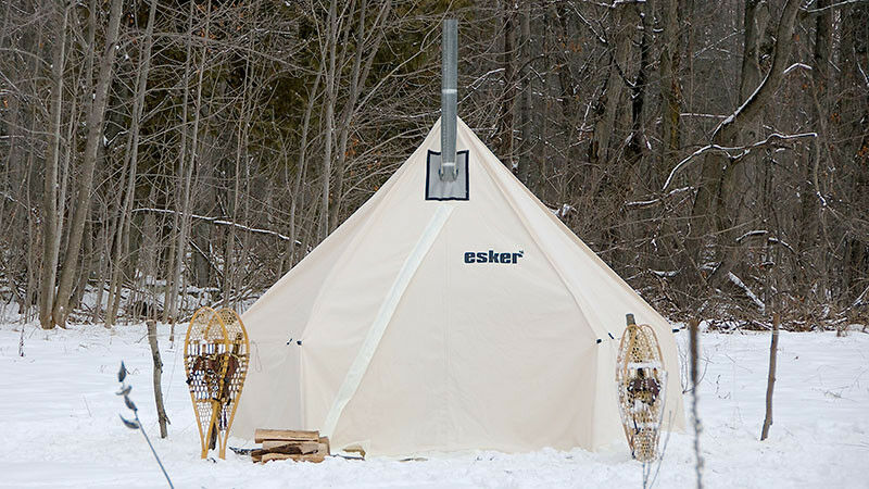 Listing item & 12x12 Alaknak tent for a Snowtrekker/Esker/ATUK hot tent | Fishing ...