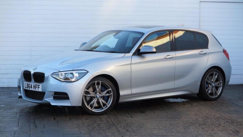 2015 BMW 1 Series 2015 64 BMW M135 I 3.0 320 BHP New Model Petrol Silver