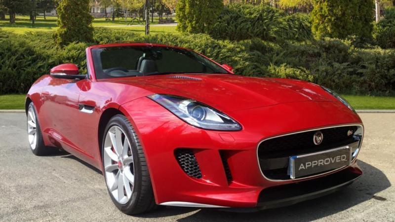 2014 Jaguar F TYPE 3.0 Supercharged V6 S 2dr Automatic Petrol Convertible
