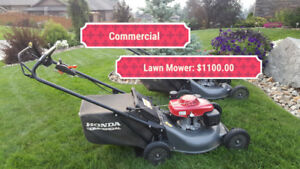 Commercial Honda Lawn Mower