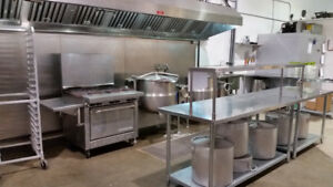 Commercial / Commissary Kitchen For Rent