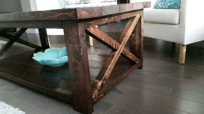 New Rustic Coffee Table With 2 End Tables Set.. $500 | Coffee Tables |  Calgary | Kijiji