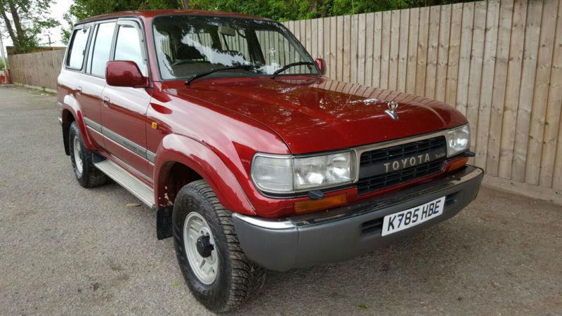 1992 K Toyota Land Cruiser 4.2TD VX MANUAL 4X4 19.9 MPG P/X