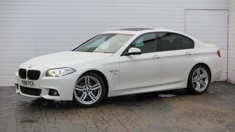 2016 BMW 5 Series 2016 66 BMW 5 Series 520D 2.0 D M Sport New Model Diesel