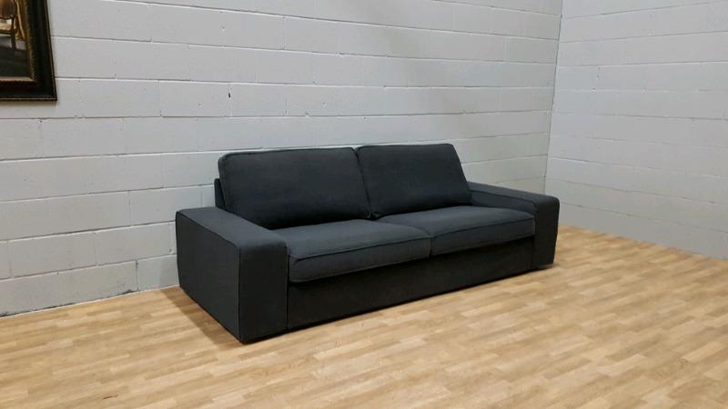 Free Delivery: Dark Grey Ikea Kivik Sofa | Couches U0026 Futons | City Of  Toronto | Kijiji