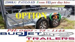 TRAILER HIRE BRISBANE 3.5T 4.1M MACHINERY BOBCAT 4X4 $90 P/D THIS AD I