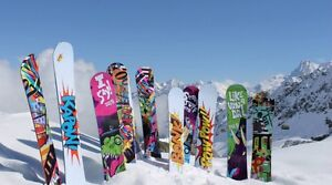 IN SEARCH OF FREE SNOWBOARDS, BOOTS, BINDINGS ECT