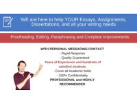 FAST QUALITY PROOFREADING/EDITING/COPY-EDITING (with personal messaging contact)