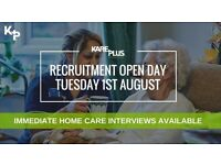Recruitment Open Day - Home Carers
